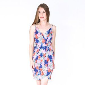 YUMI KIM Sleeveless Floral Print Jayne Mini Dress